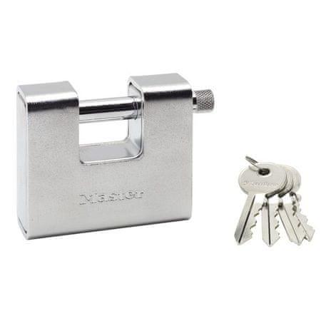 MasterLock Kłódka prostokątna 680EURD Master Lock o szerokości 80 mm