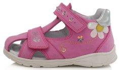 Ponte 20 dívčí kožené sandály PS121-DA05-1-652