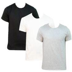 Calvin Klein 3PACK pánske tričko viacfarebné (NB4011E-MP1)
