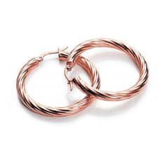 Viceroy Elegantní bronzové náušnice kruhy Fashion 6361E19017