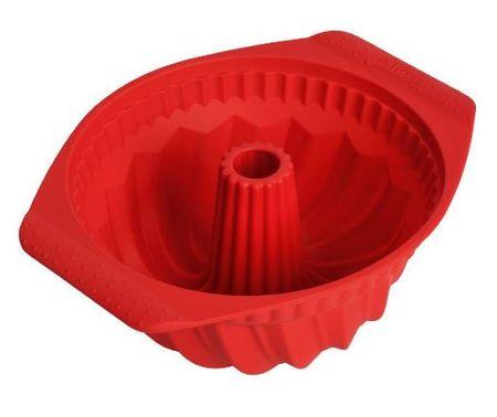 Kaiser Kaiserflex pekač za šarkelj, silikonski, 22 cm, rdeč