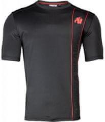 Gorilla wear BRANSON T-SHIRT - BLACK/RED - Gorilla Wear XXL