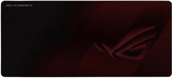 Asus ROG Scabbard II (90MP0210-BPUA00) podkładka pod mysz i klawiaturę gumowana obszyte krawędzie