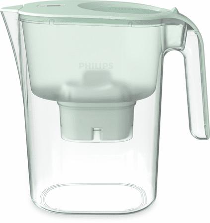 Philips vrč za filtriranje vode AWP2938GNT/10, zelen, 4l