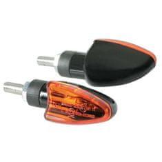 LAMPA Blinkry motoARROW černé 2ks