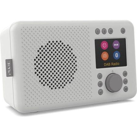 Pure Elan Connect radio, siva