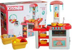 Pelegrino Detská kuchynka Riad, potraviny, otvárateľné dvere, voda