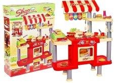 Pelegrino Veľká kuchyňa 92 cm x 69 cm Fast Food + príslušenstvo RED