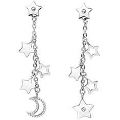 Brosway Asymetrické hvězdičkové náušnice s krystaly Chant BAH23