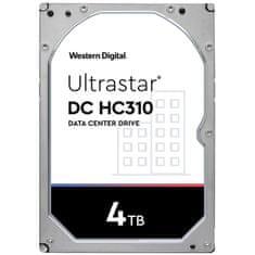 Western Digital Ultrastar DC HC310 tvrdi disk, 4 TB, SATA3, 256 MB, 7200 rpm