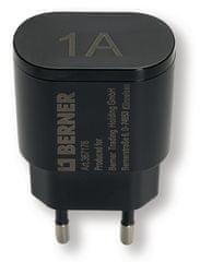 Berner 230 V / 5V, 1A USB polnilec