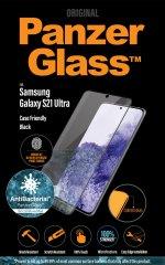 PanzerGlass zaščitno steklo Premium Antibacterial za Samsung Galaxy S21 Ultra (FingerPrint Ready) 7258