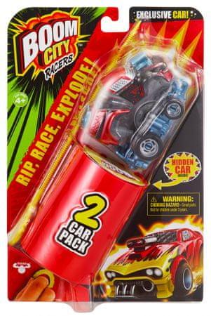 TM Toys Boom City Racers – Boom Yah! X, dvostruko pakiranje