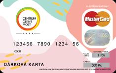 Centrum Černý Most Dárková karta Centra Černý Most v hodnotě 500,- Kč