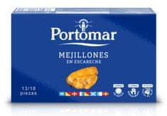 Portomar PORTOMAR Nakládané Mušle z Rias Gallegas 111 g