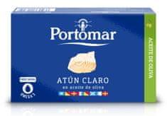 Portomar PORTOMAR Tuňák žlutoploutvý v olivovém oleji 110 g