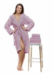 Interkontakt Sada 41 Rosa Antico župan + osuška + ručníky Velikost županu XL