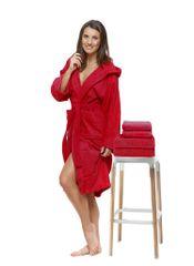 Interkontakt Sada 21 Rosso Natale župan + osuška + ručníky Velikost županu XL