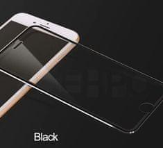 Oem Full-Cover 3D metal tvrdené sklo pre Apple iPhone XS - čierne