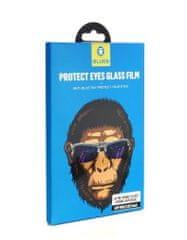 BLUEO 2.5D Zdravý zrak - ochranné tvrdené sklo Gorilla Type (0,2 mm) iPhone 11 / XR - čierne