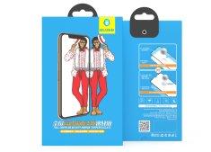 BLUEO 2.5D Zrkadlové ochranné tvrdené sklo Gorilla Type (0,2 mm) iPhone 7/8 Plus - biele