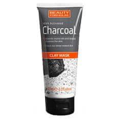 Beauty Formulas Maszka aktívszénnel Charcoal (Clay Mask) 100 ml