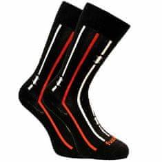 Fusakle Veselé ponožky na prkno černé (--0941)