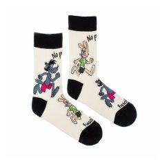 Fusakle Veselé ponožky no počkej chyť mě (--1102)