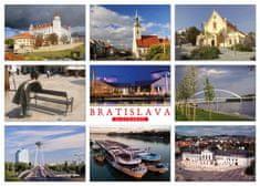 tvorme pohľadnica Bratislava b30