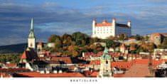 tvorme pohľadnica panoráma Bratislava b46