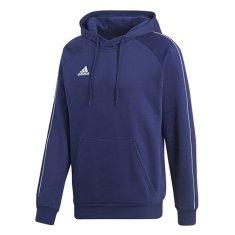 Adidas BLUZA CORE18 DKBLUE / BIAŁA | M, SS18