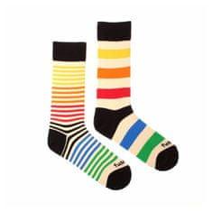 Fusakle Veselé ponožky extrovert barevný (--0802)