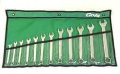 GOLA nářadí Sada očkoplochých klíčů 12dílná ve vinylu GOLA 600012