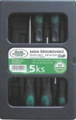 GOLA nářadí Sada šroubováků 5-dílná GOLA 040205S