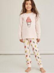 Name it růžové holčičí vzorované pyžamo