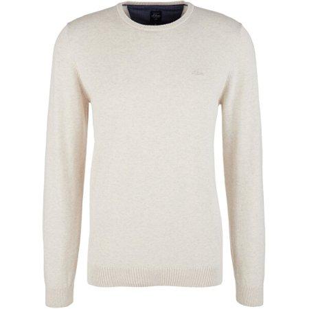 s.Oliver Regular Fit moški pulover 130.11.899.17.170.2040664.03W0 (Velikost S)