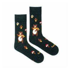 Fusakle Veselé ponožky medveď (--1043)