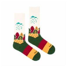 Fusakle Veselé ponožky naše krajina (--1045)
