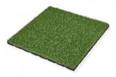 Pryžovépodložky.cz Pryžová dlažba, umělá tráva, 500x500x25 mm
