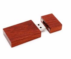 CTRL+C Drevený USB hranol, cherry