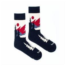 Fusakle Veselé ponožky panoramata (--0983)