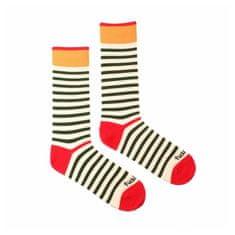 Fusakle Veselé ponožky proužek veselý (--0813)