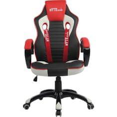 Bytezone Racer Pro gamerska stolica, crna, siva, crvena