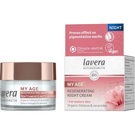 Lavera Regeneráló éjszakai szemkörnyékápoló krém My Age (Regenerating Night Cream) 50 ml