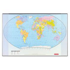Herlitz stolna podloga, svijet, 68 x 44 cm