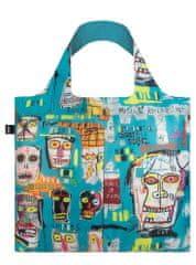 LOQI Nákupná taška LOQI Museum, Basquiat - Skull