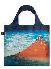 LOQI Nákupná taška LOQI Museum, Hokusai - Red Fuji, Mountains in Clear Weather