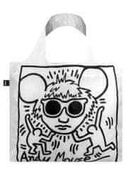 LOQI Nákupná taška LOQI Museum, Haring - Andy Mouse