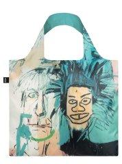 LOQI Nákupná taška LOQI Museum, Basquiat - Warhol