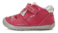 D-D-step 070-866A barefoot cipele za djevojčice, kožne